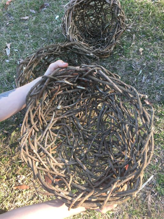 Basket weaving (Feat: @earthcrafts)