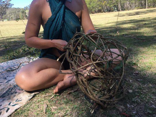 Random basket weave (river vines)