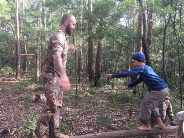 Balance competitions (Bluegum Bushcraft)