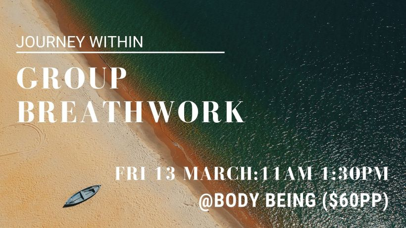 Group Breathwork Poster 13 March 2020